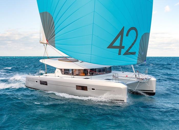 Lagoon 42 4 cabins bvi sailing vacation reviews