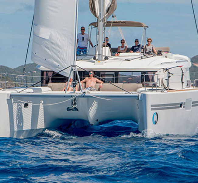 Lagoon 450 3 cabins bvi sailing vacation reviews