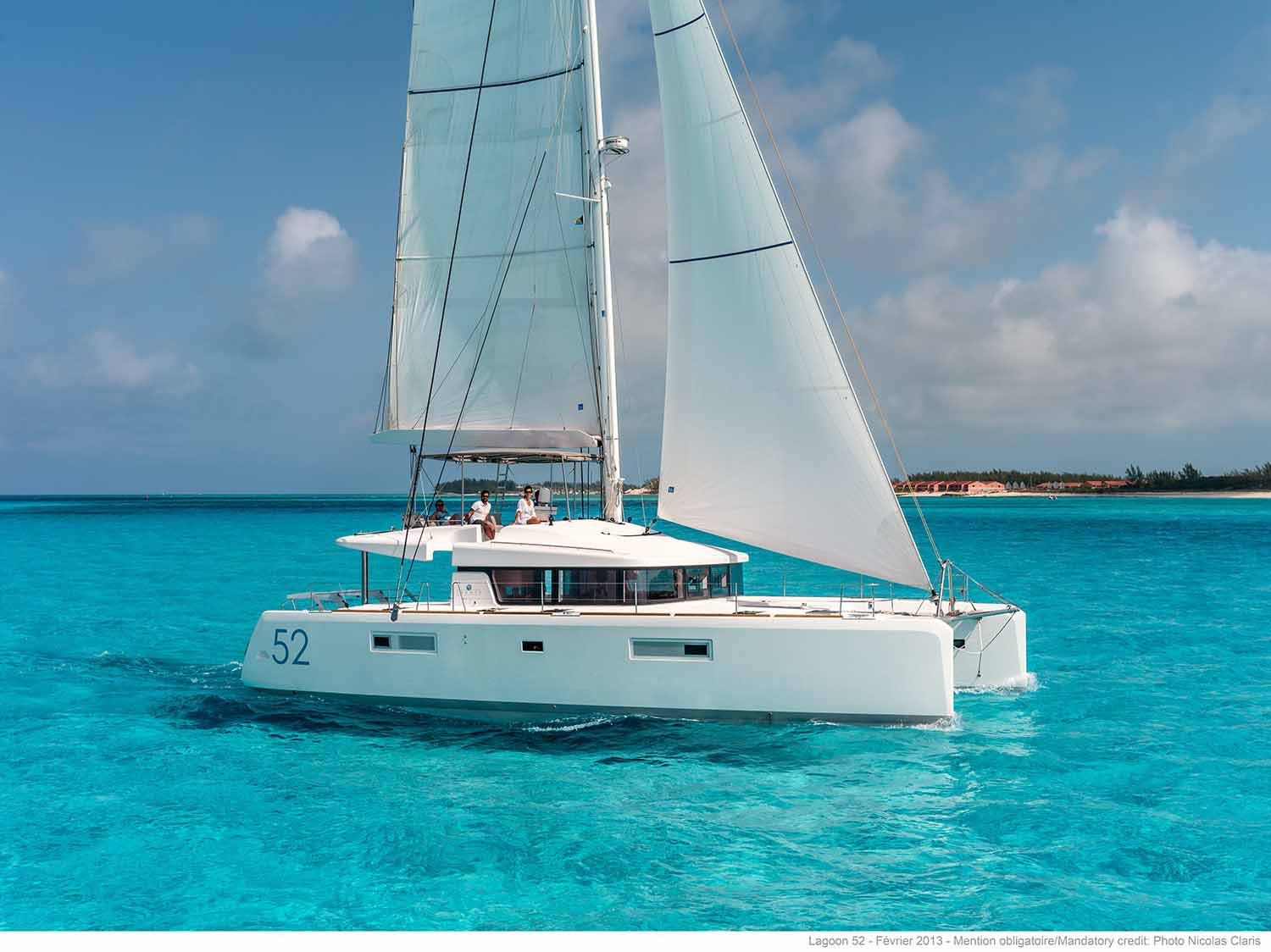 Lagoon 52 5 cabins The Catamaran Company