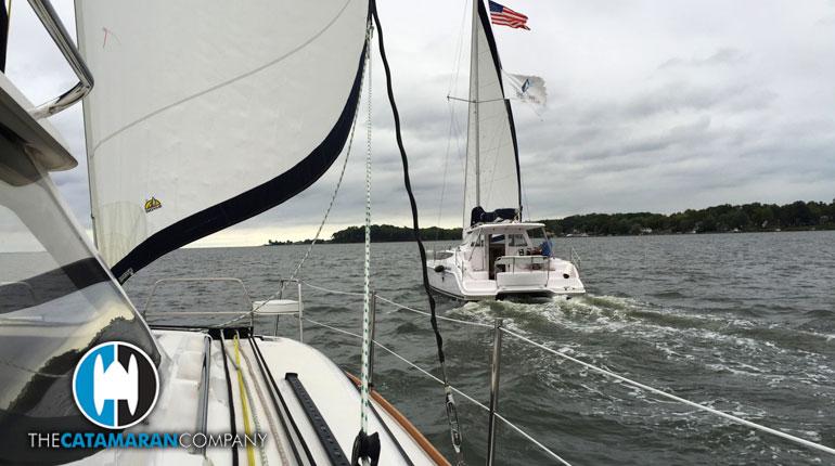 Gemini Catamarans – Vive La Différence – Advances in Visibility