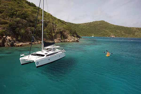 Gemini Legacy 35 bvi sailing vacation reviews