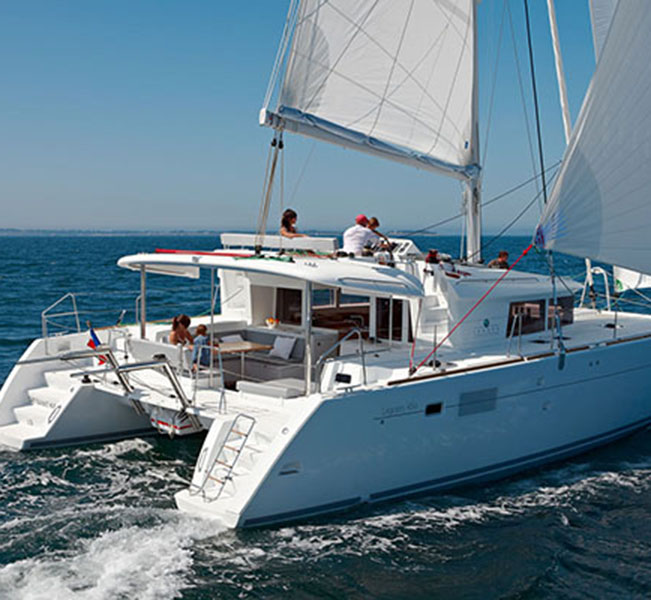 Lagoon 450 best bvi charter vacation companies