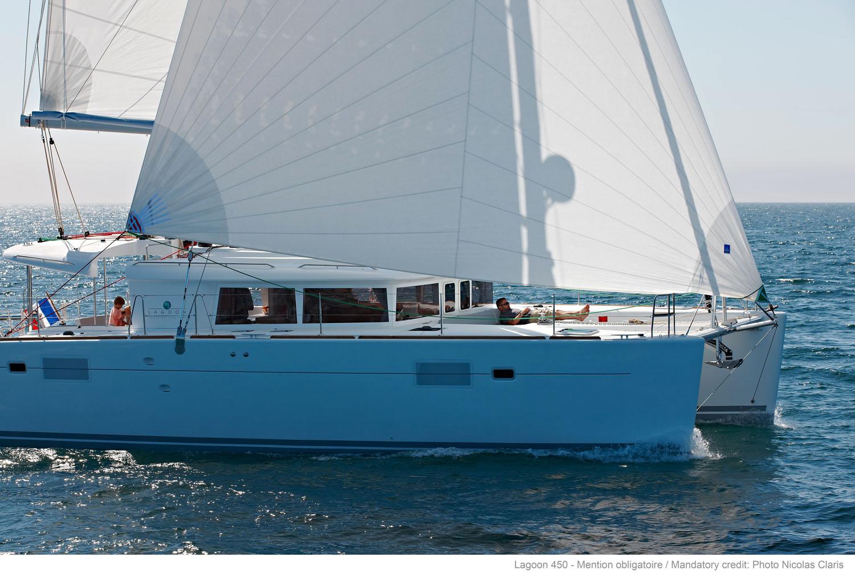 Lagoon 450 4 cabins Catamaran Charter