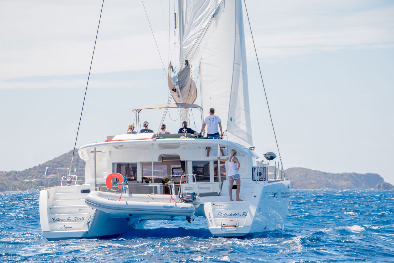 Catamaran Charter Lagoon 450f Between The Sheets Ii In Bvi