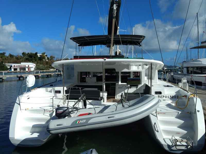 Lagoon 450 catamaran to rent in BVI