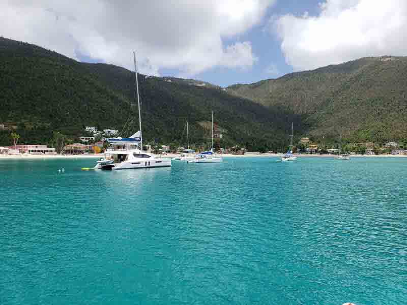 BVI Sail Itineraray