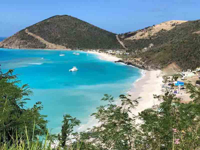 British Virgin Islands Sail Itinerary