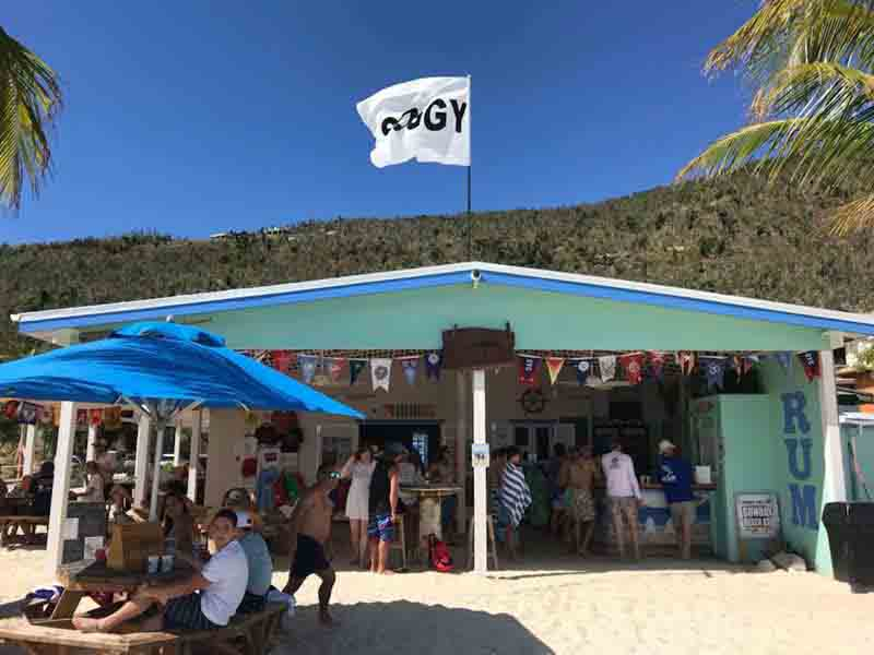 British Virgin Islands - Soggy Dollar Bar - Jost Van Dyke
