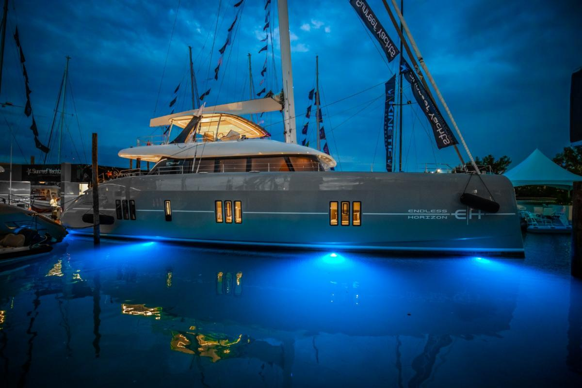 CHARTER YACHT'ENDLESS HORIZON' SUNREEF 80 AWARDED BEST BOAT
