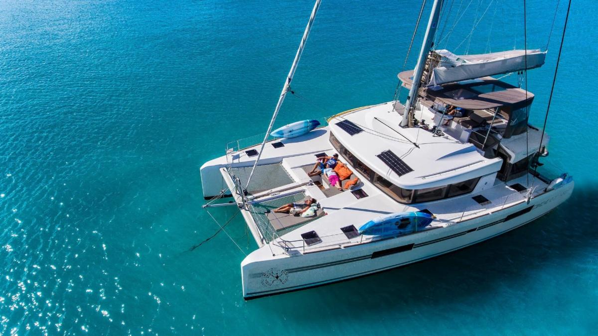 Talented Musician & Boat Owner Lists 2018 Lagoon52 For Sale