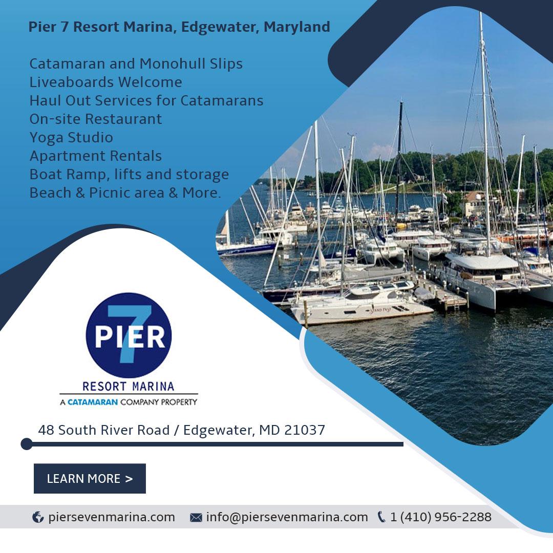 Pier 7 Resort Marina: Haul Out | Winter Storage | Service | Catamarans For Sale