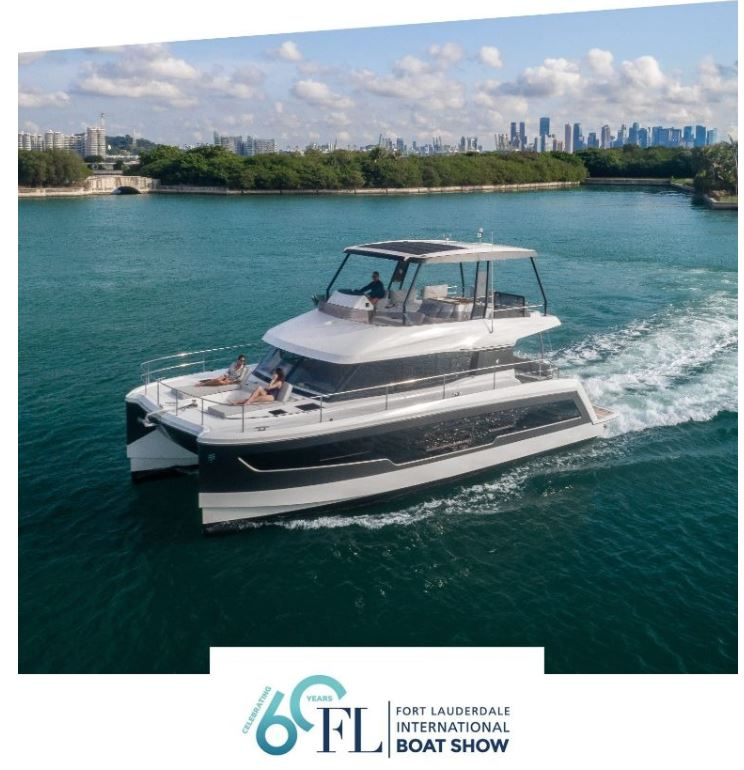 See the FP MY 37, 40, 44 at Fort Lauderdale Boat Show