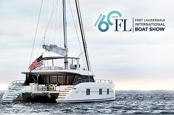 Sunreef 60 - Now in Ft. Lauderdale - See Her at the Boat Show!