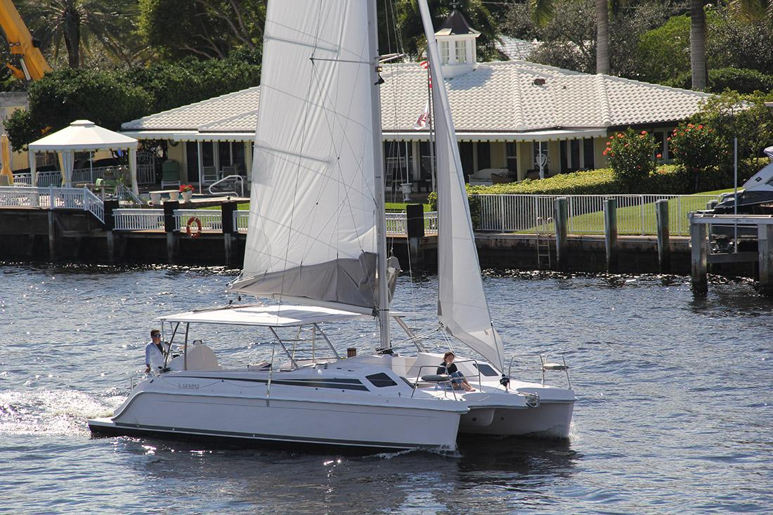 Gemini Freestyle 37 Joins the Cat Walk in Kemah