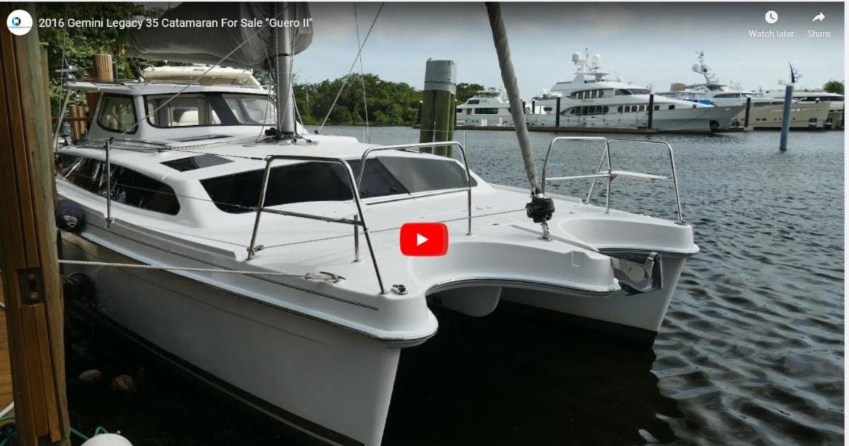 12 Gemini Catamarans For Sale Starting from $116,500