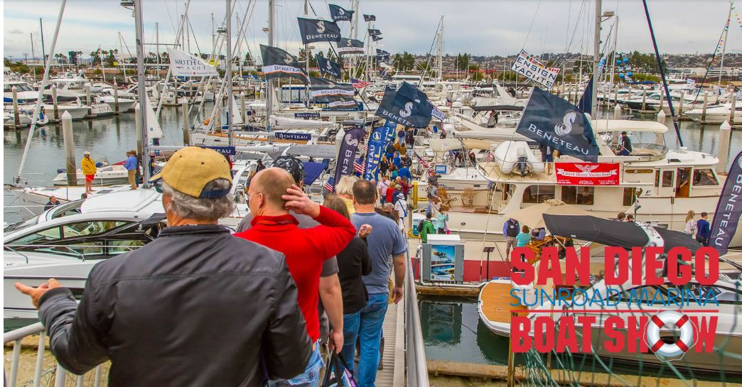 You're invited to San Diego Boat Show!