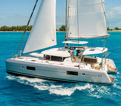 FEATURED CHARTER CATAMARANS