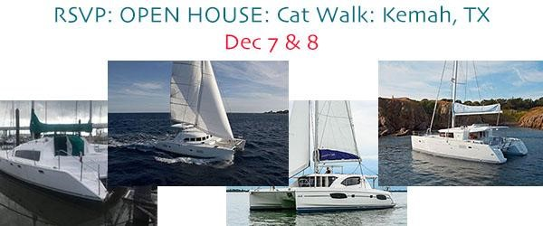 RSVP: OPEN HOUSE: Cat Walk: Kemah, TX – Dec 7 & 8