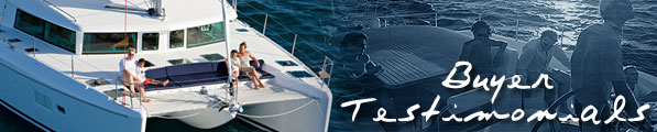Catamaran Buyer Testimonials
