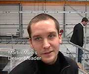 Martin Myers, Design Leader