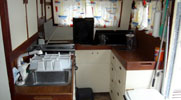 Arakanoa: Custom Ketch Catamaran 52': Galley