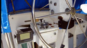 Arakanoa: Custom Ketch Catamaran 52': Helm