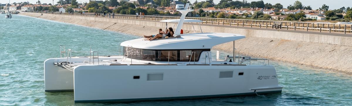 The Catamaran Company Lagoon 40 Motor Yacht Coming Soon