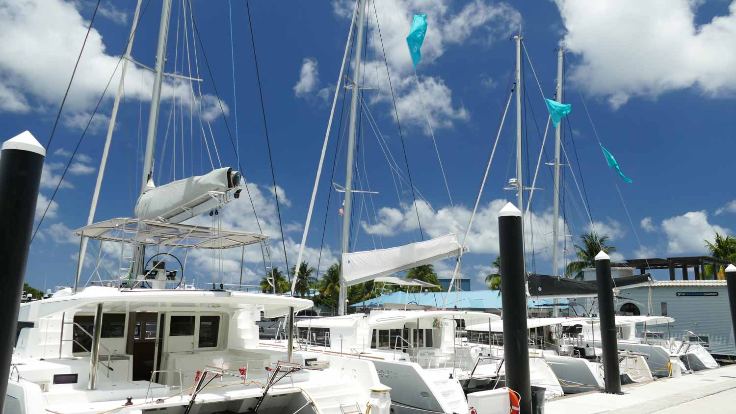 Boats For Sale on Catamaran Row at Lauderdale Marine Center