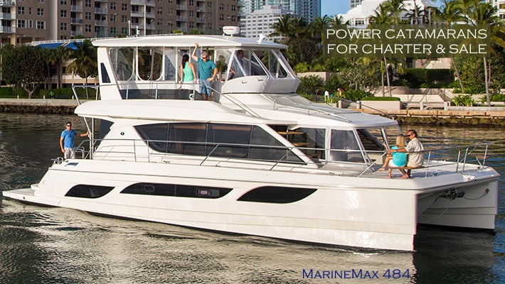 Power Catamarans Available for Sale & Charter