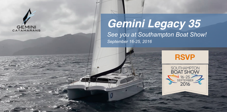 Sit back, relax and enjoy the show in luxury, comfort and style aboard the 2016 Gemini Legacy 35