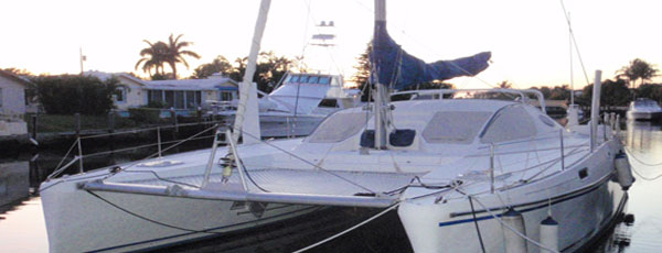 The Perfect Catamaran for Sale for the Cruising Couple
