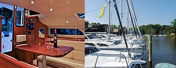 The world's best selling Single – Design Cruising Catamaran is on display!