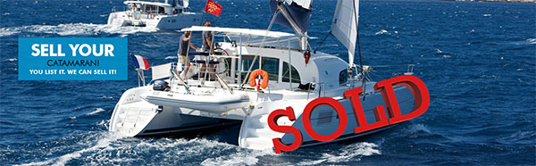THE GOAL: Sell your catamaran!