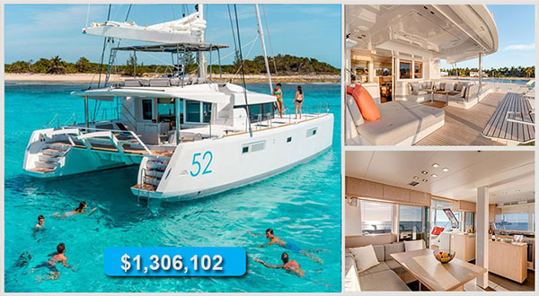 Special Stock Pricing On 2014 Lagoon Catamarans