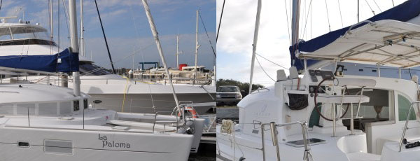 La Paloma 2007 Lagoon 380 S2 lying St Augustine Florida Catamaran for Sale!