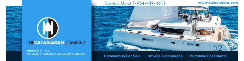 The Catamaran Company: Established in 1989. The Leader in Catamaran Sales & Charter Bookings