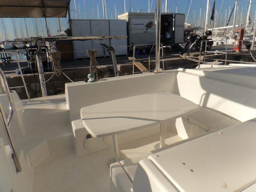 Used Sail Catamaran for Sale 2014 Lagoon 421 Deck & Equipment