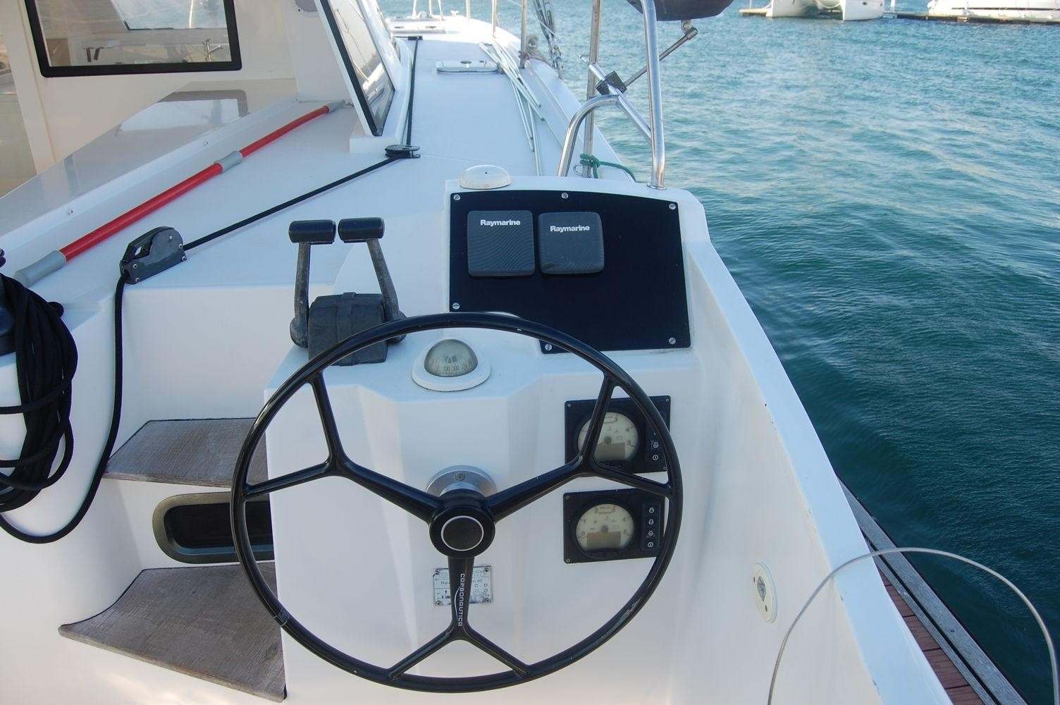 Used Sail Catamaran for Sale 2014 Nautitech 40 Open Electronics & Navigation