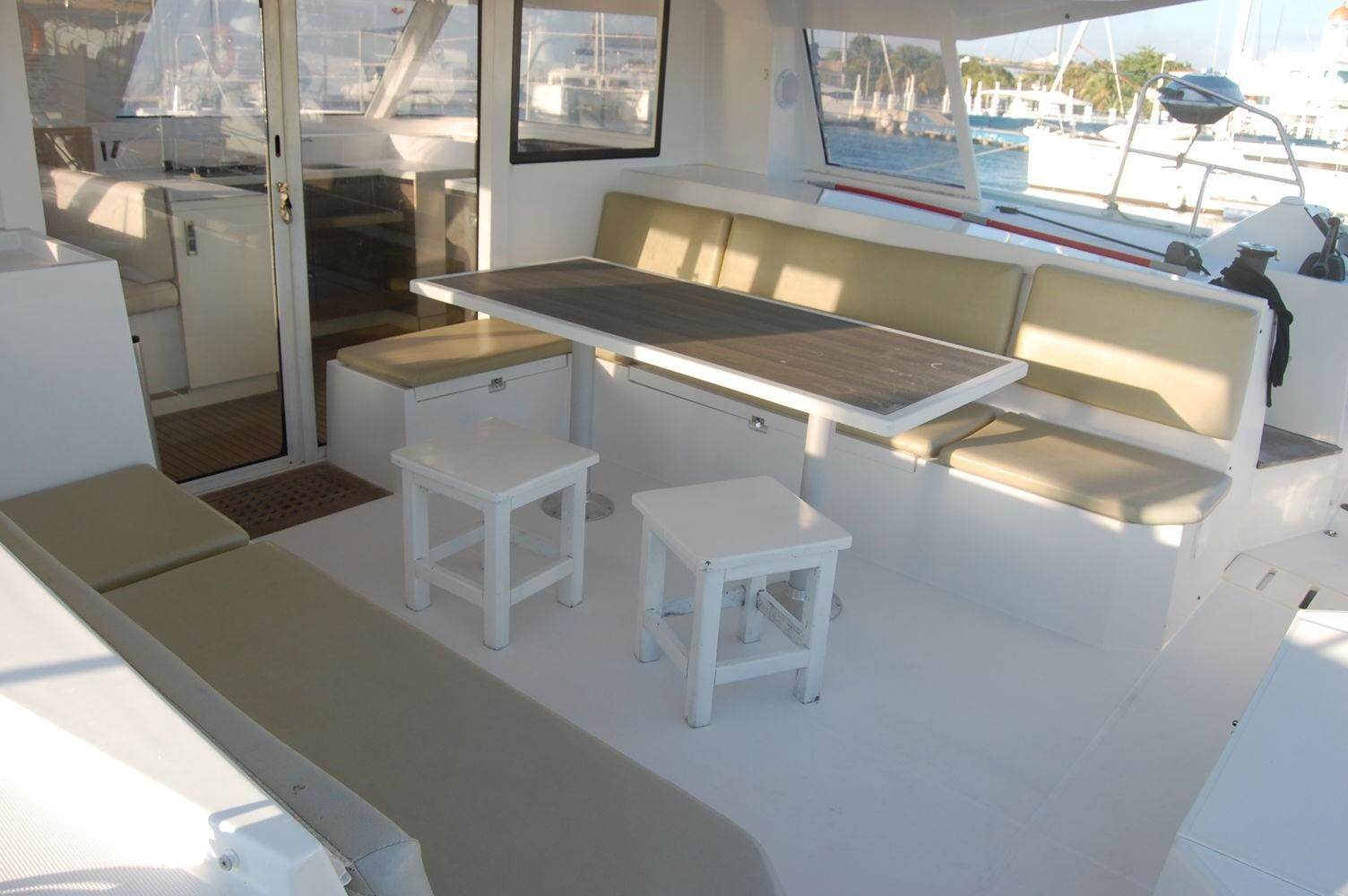 Used Sail Catamaran for Sale 2014 Nautitech 40 Open Deck & Equipment