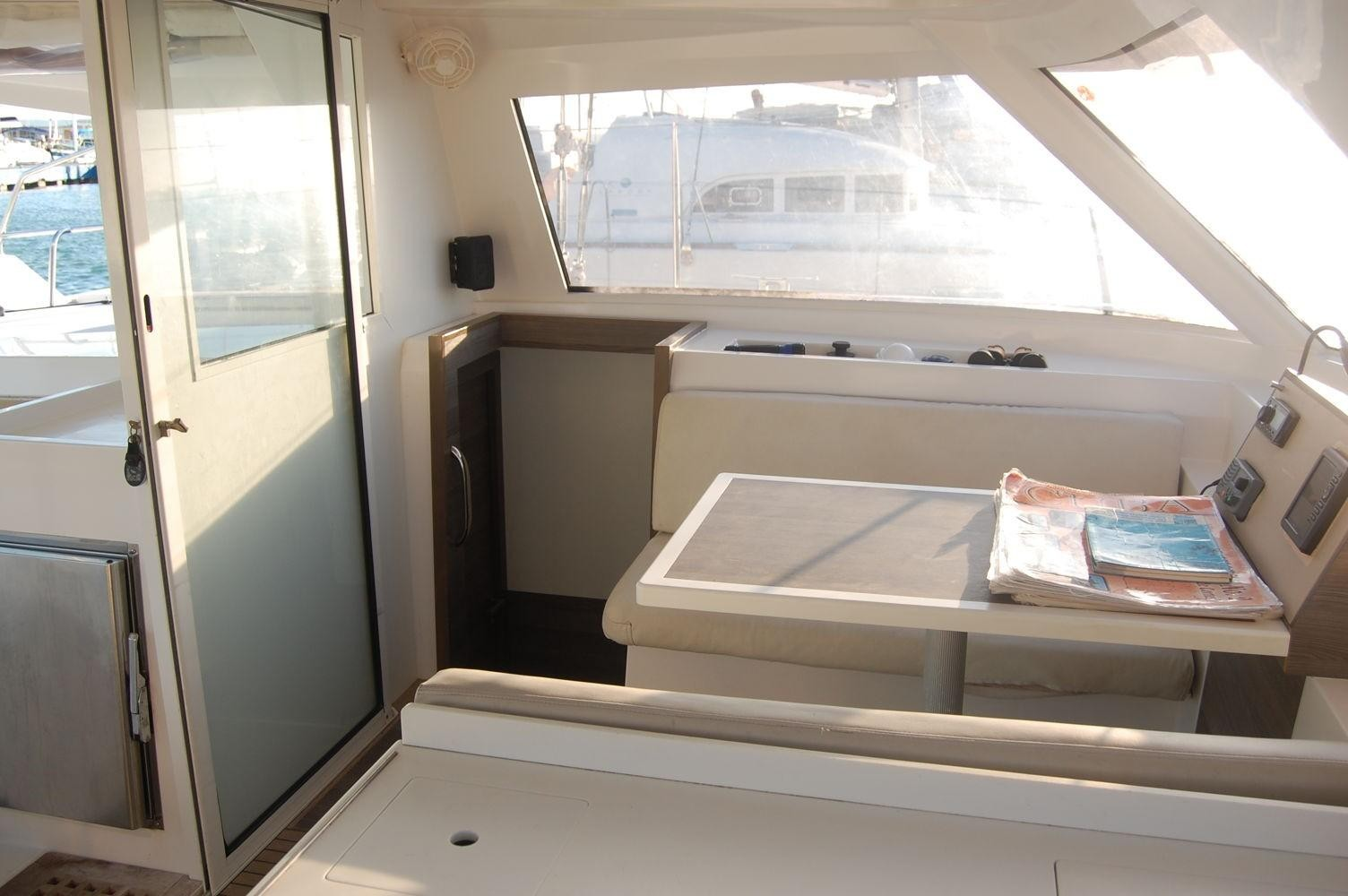 Used Sail Catamaran for Sale 2014 Nautitech 40 Open Layout & Accommodations
