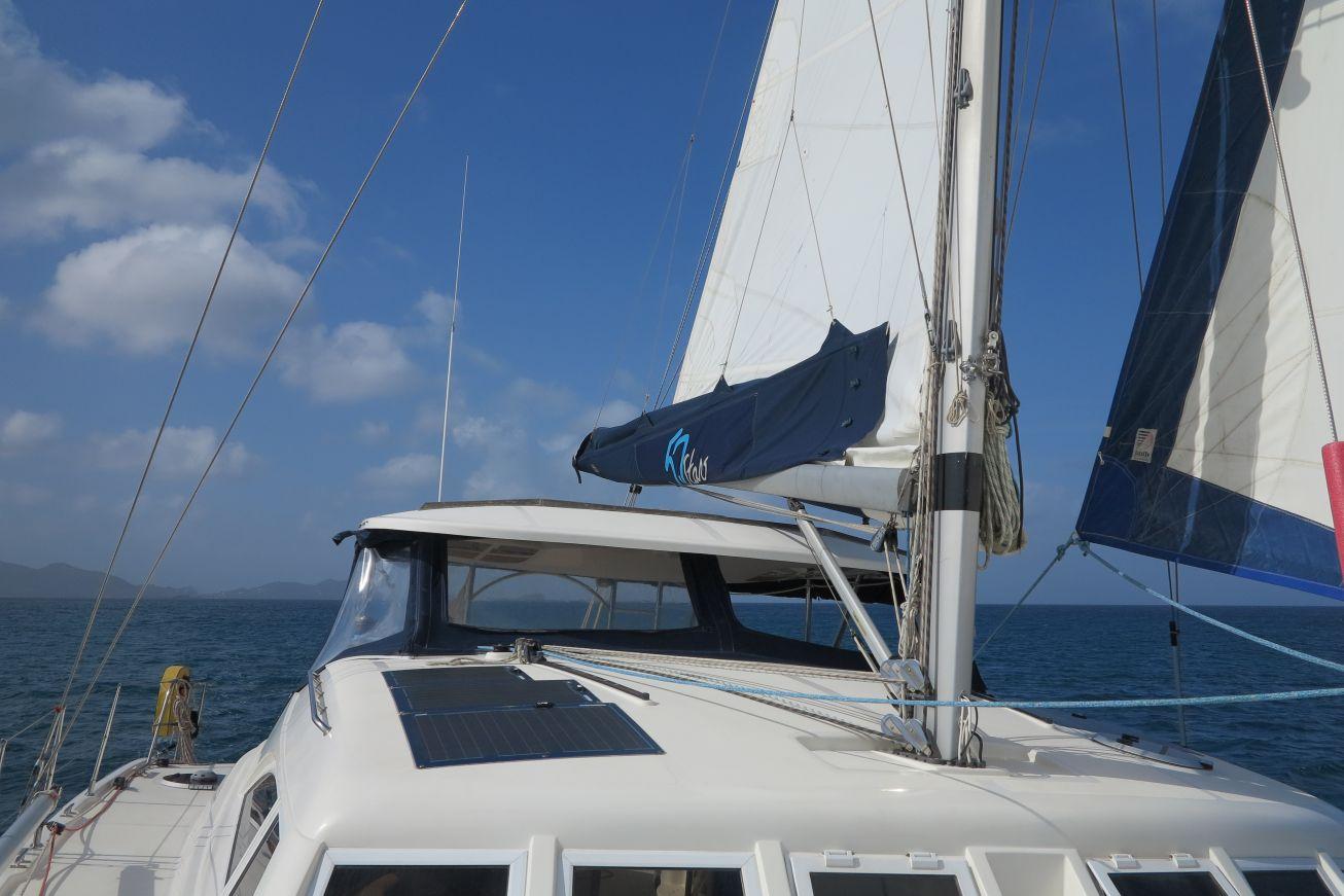 Used Sail Catamaran for Sale 2005 Broadblue 42 Sails & Rigging