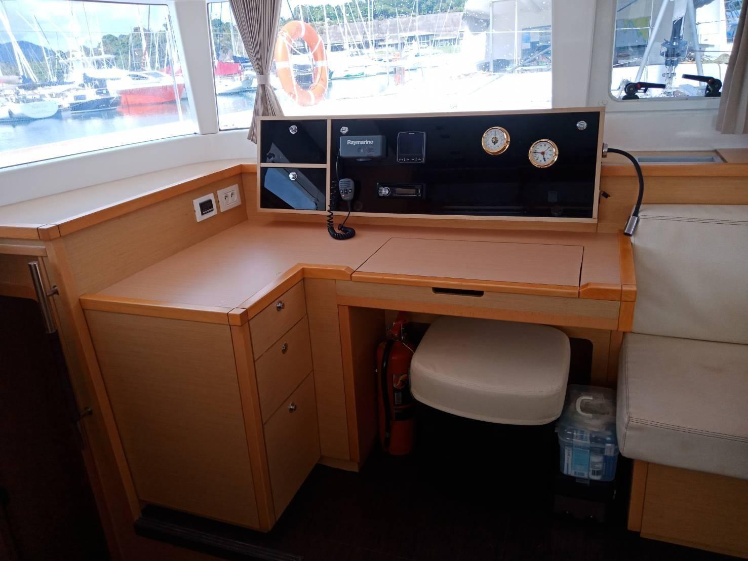 Used Sail Catamaran for Sale 2013 Lagoon 450 Electronics & Navigation