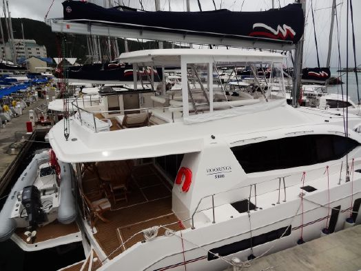 Used Sail Catamaran for Sale 2014 Leopard 58 Boat Highlights