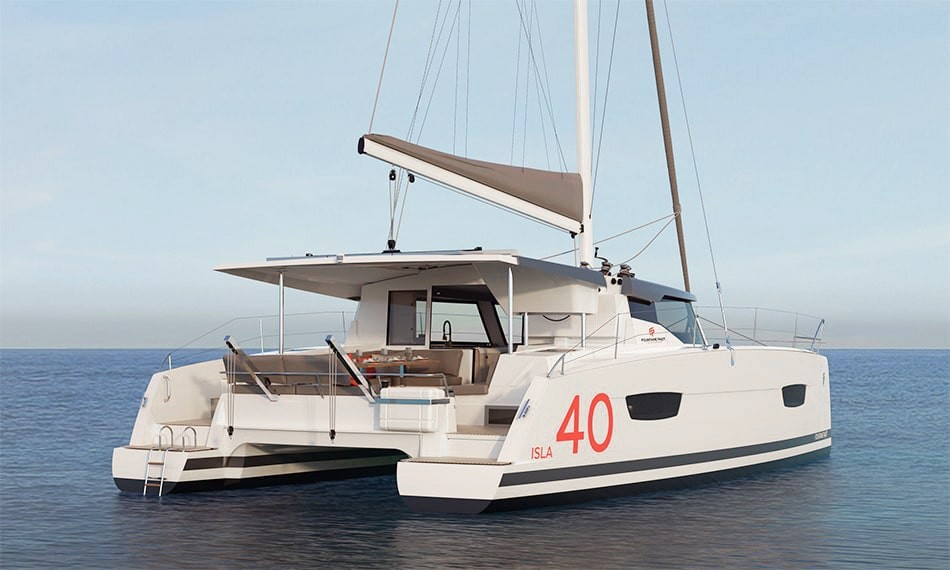New Sail Catamaran for Sale 2021 ISLA 40 Boat Highlights
