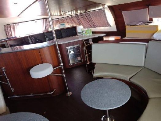Used Sail Catamaran for Sale 1997 Marquises 56 Layout & Accommodations