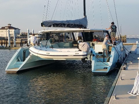 Used Sail Catamaran for Sale 2015 Gunboat 55 Boat Highlights