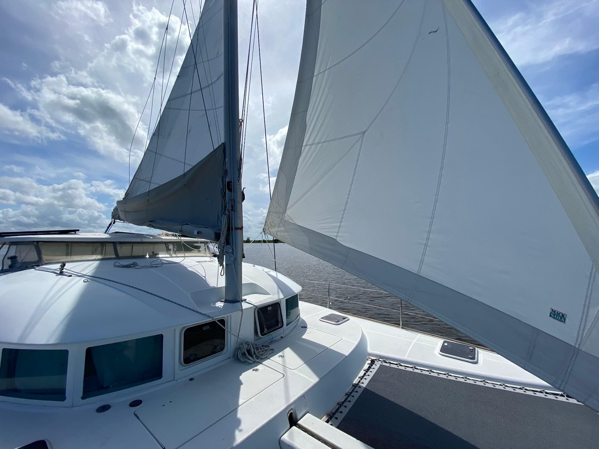 Used Sail Catamaran for Sale 2005 Lagoon 380 S2 Sails & Rigging