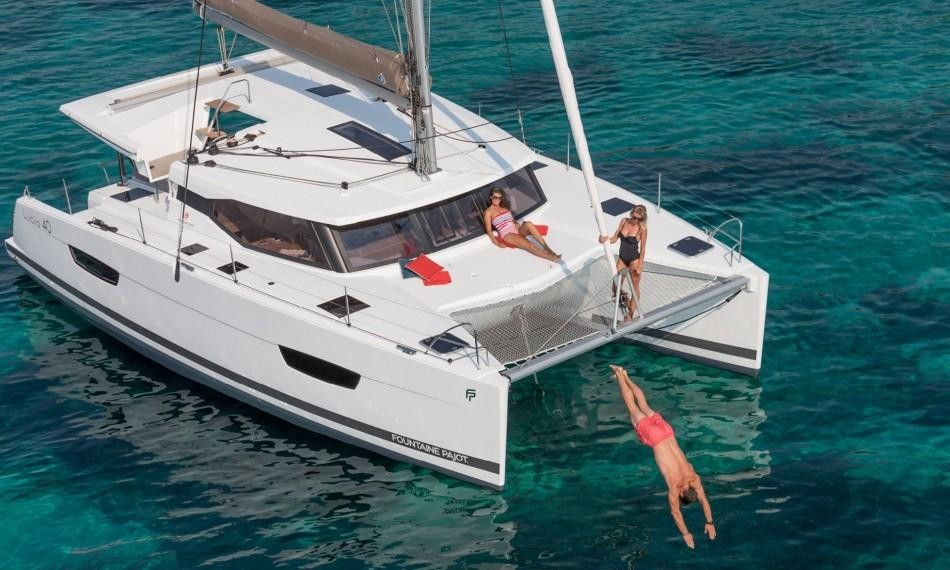Used Sail Catamaran for Sale 2019 LUCIA 40 Boat Highlights