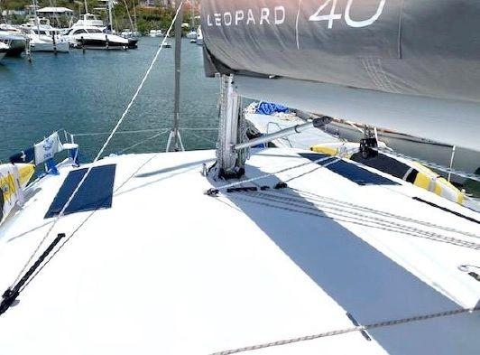 Used Sail Catamaran for Sale 2018 Leopard 40 Sails & Rigging