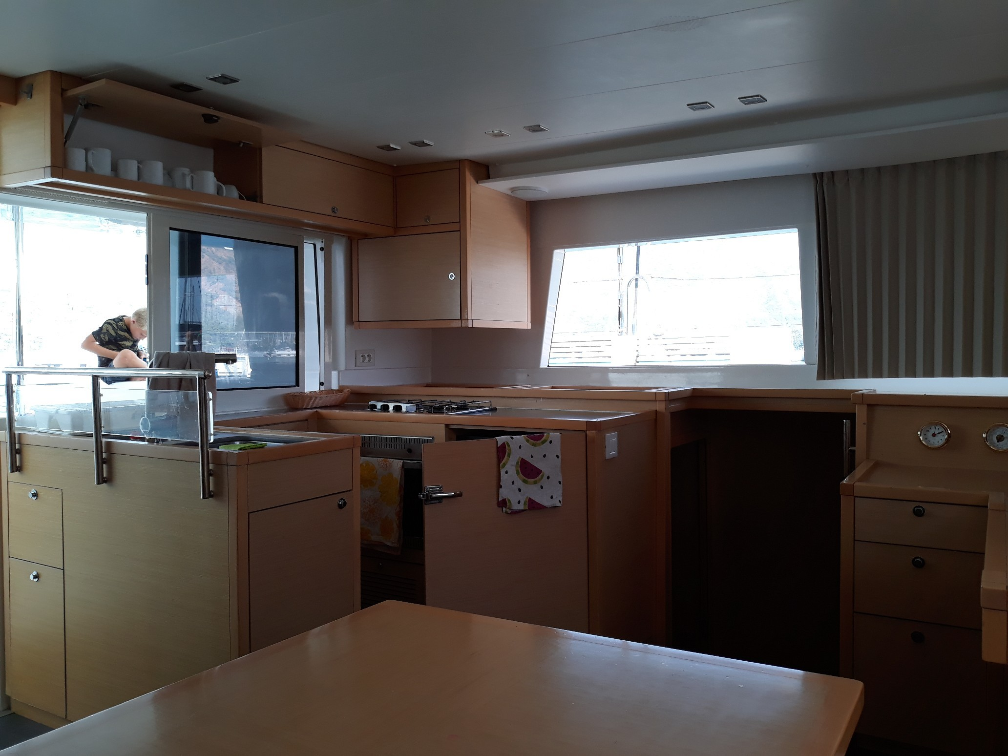 Used Sail Catamaran for Sale 2014 Lagoon 450 Galley